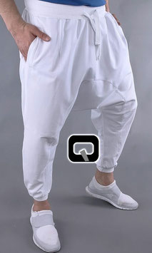 Jogginghose Farbe Weiß