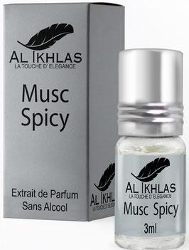 Misk Al Ikhlas Spicy 3 ml Parfümöl