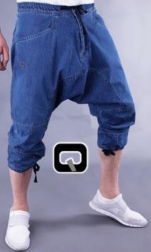 Pantacourt Jeans Farbe Hellblau 3/4 Hose