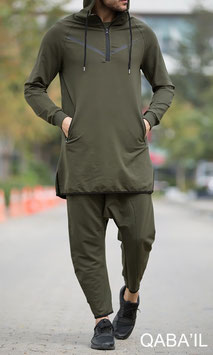 Legende Neo Joggingnanzug Farbe Kaki