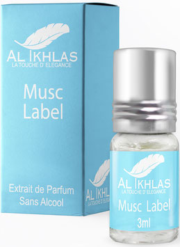 Misk Al Ikhlas Label 3 ml Parfümöl