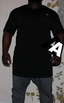 Metal Jersey T-Shirt Urban Farbe Schwarz