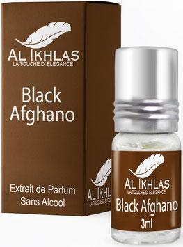 Misk Al Ikhlas Black Afghano 3 ml Parfümöl