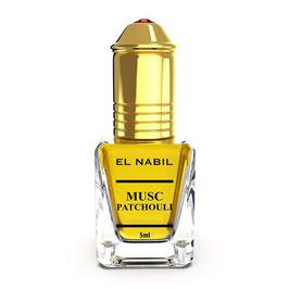 El Nabil Musc Patchouli 5 ml Parfümöl