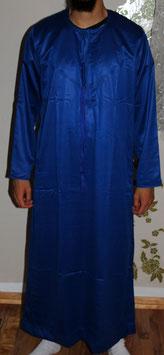 Qamis Emirate Langarm Farbe Blau Gewand - Oberteil Langarm