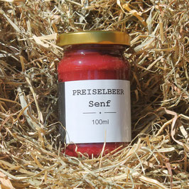 Wiedemer Preiselbeer-Senf