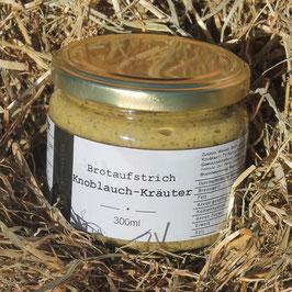 Brotaufstrich Knoblauch-Kräuter