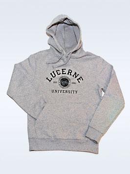 Hoodie College grau