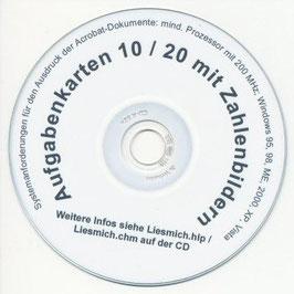 BS03: CD Aufgabenkarten 10 / 20 mit Zahlenbildern