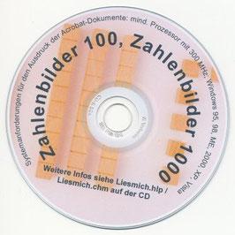 HZ04: CD Zahlenbilder 100 / 1000