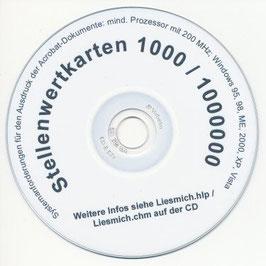 IS03: CD Stellenwertkarten