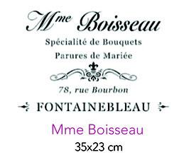Madame Boisseau