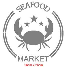 Crabe market