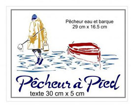 Pêcheur et barque