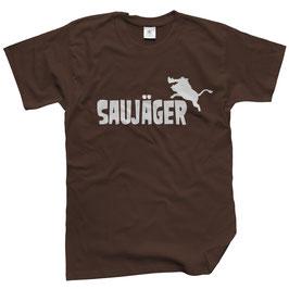 WILDlife® Herren Outdoor T-Shirt mit Saujäger Print