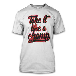 Take it like a Champ - Negan Herren T-Shirt inspired by The Walking Dead