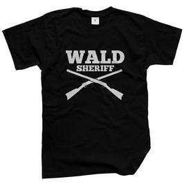 WILDlife® Herren Outdoor T-Shirt mit Wald Sheriff Print