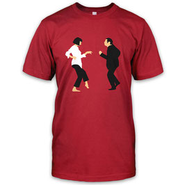 Mia Wallace Vincent Vega Herren T-Shirt inspired by Pulp Fiction