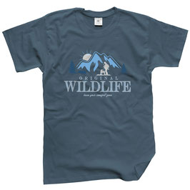 WILDlife® Herren Outdoor T-Shirt mit Original WILDLIFE® Print