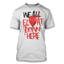 We all float down Herren T-Shirt inspired Stephen King`s Es