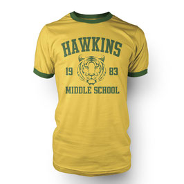 Hawkins Middle School Herren T-Shirt inspired by Stranger Things