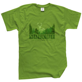 WILDlife® Herren Outdoor T-Shirt mit Nature Print