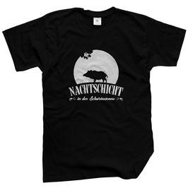WILDlife® Herren Outdoor T-Shirt mit Nachtschicht in der Schweinesonne Print