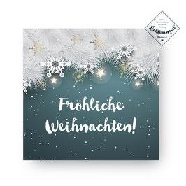 """Geschenkkarte """"Fröhliche Weihnachten"""""""