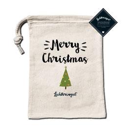 """Geschenkbeutel """"Merry Christmas"""""""