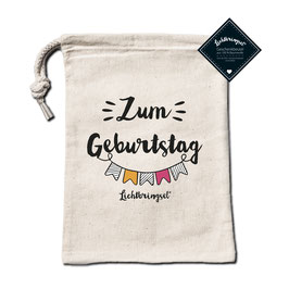 """Geschenkbeutel """"Zum Geburtstag"""""""
