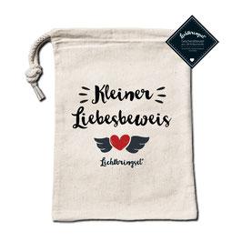 """Geschenkbeutel """"Kleiner Liebesbeweis"""""""