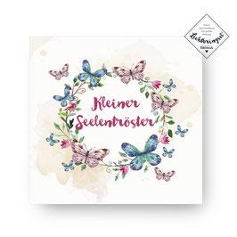 """Geschenkkarte """"Kleiner Seelentröster"""""""