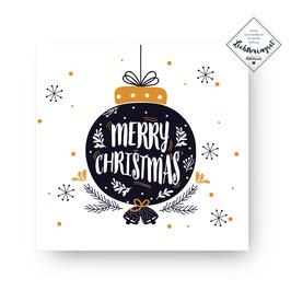 "Geschenkkarte ""Merry Christmas"""