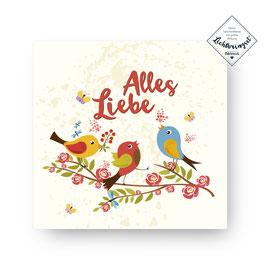 """Geschenkkarte """"Alles Liebe"""""""