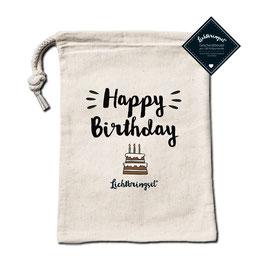 """Geschenkbeutel """"Happy Birthday"""""""