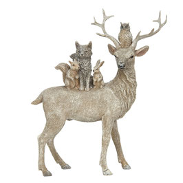 FIGURINE ANIMAUX D'HIVER