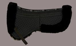 LAMMFELL PAD mit Korrektur Taschen schwarz ohne hinteren Kranz (bild stimmt nicht)