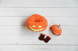 Outfit: Halloween Kürbis