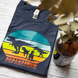 Männershirt Papasaurus