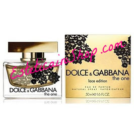 Dolce & Gabbana The One Lace Edition 50ML Eau de Parfum Donna
