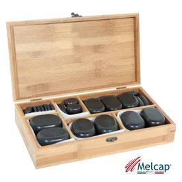 Melcap Kit 45 Pietre Basalto cod.SS0243
