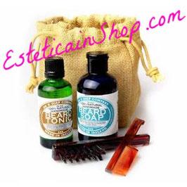 Dr K Soap Company Set barba Sapone e Tonico