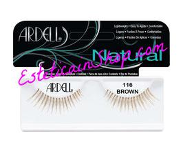 Ardell Ciglia Finte Natural Lashes 116 Demi Brown cod.61620