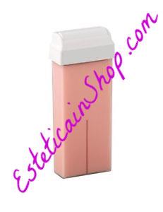 Ricarica rullo cera titanio rosa  100ml