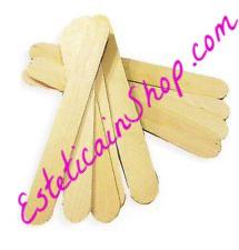 100 Spatole corpo monouso in legno