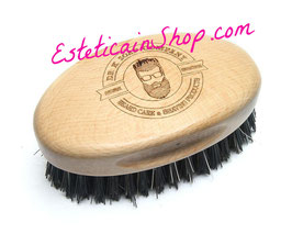 Dr K Soap Company Spazzola per Barba Grande Ovale