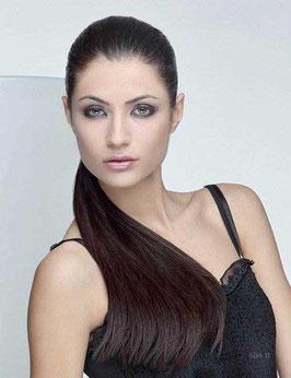 She Coda Diva 100% Capelli Naturali 55cm