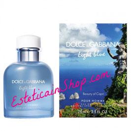 Dolce & Gabbana Light Blue Pour Homme Beauty of Capri Eau de Toilette Uomo