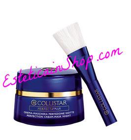 Collistar Pefercta Plus Crema Maschera Perfezione Notte Viso e Collo 50ml + Pennello