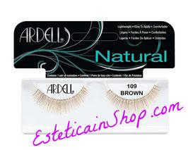 Ardell Ciglia Finte Natural Lashes 109 Demi Brown cod.60920